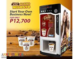 Coffee Vending Machine In Cebu Fascinating Chong Cafe Coffee Vendo Business Package Manila Chong Cafe Vendo