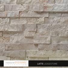 Latte Ledgestone Collection Veneer Latte Ledgestone Collection - Exterior stone cladding panels