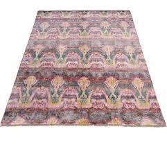 contemporary psychedelic fantasy area rug at rugs ikat ivory blue by safavieh
