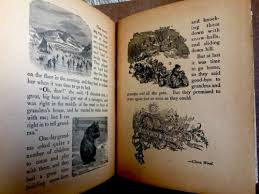 s in the wood antique 1900 s victorian children s fairy tale story book