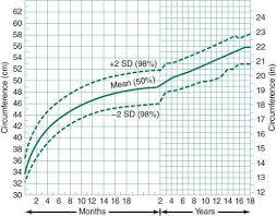 Head Circumference Chart Boys 2 18 Child Development Behavior Obgyn Key