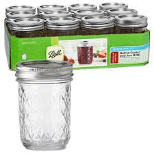 Ball : Admin - Palmer Wholesale, Your Wholesale Superstore! & Jars - 8 oz. Quilted Crystal Jelly Jars - Case of 12 Adamdwight.com