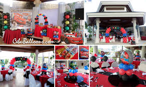 Lightning Mcqueen Birthday Party Lightning Mcqueen Complete Birthday Party Package At
