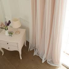Lace Bedroom Curtains Aurora Home Lace Overlay Blackout Grommet Top Curtain Panel Pair