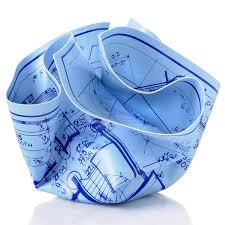 architecture blueprints 3d. Architect S Crumpled Blueprint Paperweight Architecture Blueprints 3d