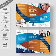 Corporate Brochure Template Corporate Brochure Layout Free Vector Download Wisxi 20