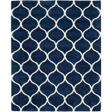 safavieh hudson navy ivory 9 ft x 12 ft area rug sgh280c 9 the home depot