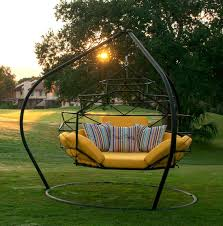 The Pod by Kodama Zome Outdoor Swing Bed Lounge Patio Lane