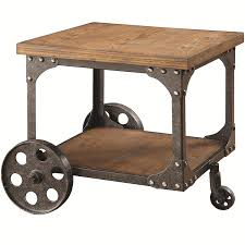 metal and wood furniture. Industrial Metal And Wood Furniture. Amazon.com: Coaster 701127 Home Furnishings End Table Furniture