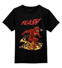 """<b>Детские футболки</b> c стильными принтами """"flash"""" - <b>Printio</b>"""