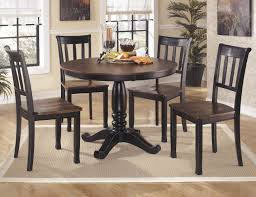 Ashley Furniture Kitchen Table Set Buy Ashley Furniture Owingsville Round Dining Room Table Set