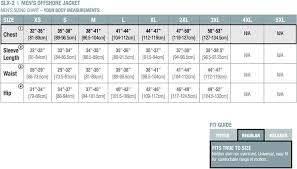Stormtech Size Chart Stormtech Mens Offshore Jacket