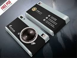 Free Psd Business Card Templates 40 Business Card Templates For Photographers Decolore Net