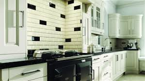 Full Size of Modern Kitchen:unique Black And Cream Kitchen Wall Tiles Black  And Cream ...