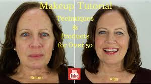 makeup tutorial techniques s for over 50