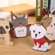 image is loading 2018 cartoon dog desk desktop flip calendar stand