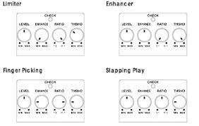 boss lmb 3 bass limiter enhancer andy smith sample settings provided by boss