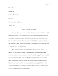 Example Of Literature Essays World Literature Essay Example A Dolls House Example Essays