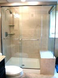 glass shower door installation bath s instructions cost warehouse frameless doors calculator