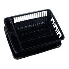 Kitchen Sink Drain Rack United Solutions Sk0031 Two Piece Dish Rack And Drain Board Set In