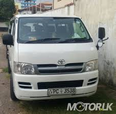 2007 Toyota hiace kdh200 DX Van For Sale in Colombo #REF6488 | Motor.lk