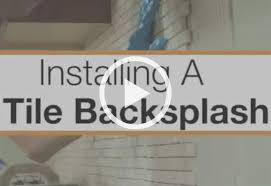 Small Picture How To Install a Kitchen Backsplash at The Home Depot