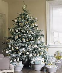 white-christmas-tree-decorating-ideas
