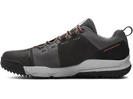 under armour ua culver low wp hiking shoes nylon leather