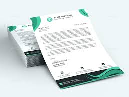 Professional Company Letterhead Company Letterhead Template Format Business Letter Paper