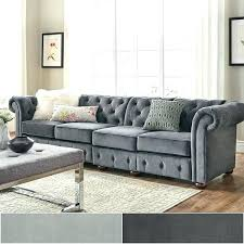 large sectional sofas with chaise long velvet tufted scroll arm chesterfield extra regard to sofa idea large sectional sofas