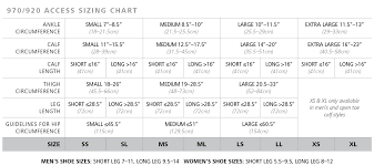 Sigvaris Measurement Chart Sigvaris Womens Dynaven Open Toe Thigh Highs W Grip Top 20 30mmhg
