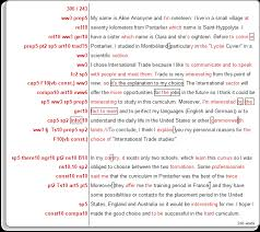 menu essay examples click in the left hand margin for more about the corrections some of the errors are hyperlinks leading to comments