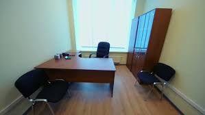 small office room. Interior Of Small Empty Room With Office Furniture And Window Stock Footage Video 5109659 | Shutterstock L