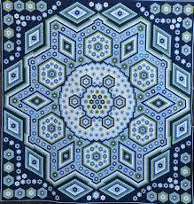 The Vignette Hexagon Quilt & Wednesday, December 9, 2015 Adamdwight.com