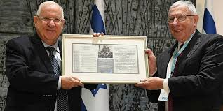 Rivlin Jdc Leaders Gather To Mark Israel S 70th Anniversary