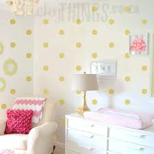 rose gold polka dot wall decals gold dot decal rose gold polka dot wall stickers