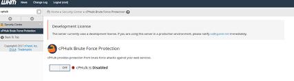 Securing Linux Cpanel server