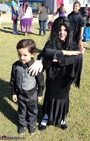morticia and gomez addams costume