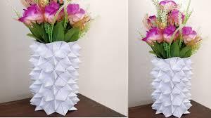 Flower Vase With Paper 005 Flower Vase Of Paper Laowaiblog