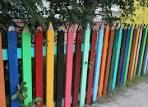 Как покрасить забор на даче 181