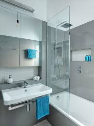 tub shower combo ideas Bathroom Contemporary with frameless shower  partition frameless. Image by: Jordan Smith