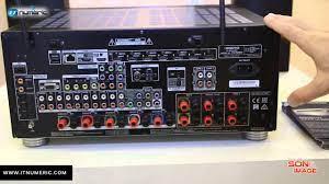 ONKYO TX RZ 800 Ampli home cinéma 7 2 certifié THX Select2 - YouTube