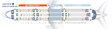 Seat Map Boeing 787 9 United Airlines Best Seats In Plane