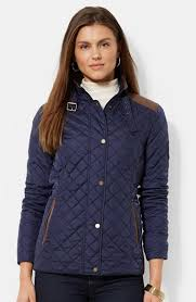 Lauren Ralph Lauren Faux Leather Trim Quilted Jacket | Where to ... & ... Lauren Ralph Lauren Faux Leather Trim Quilted Jacket Adamdwight.com