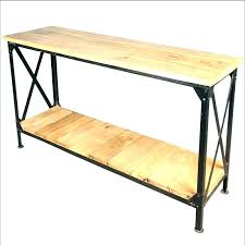 wrought iron entry table half round foyer table half round entryway table wrought iron and wood