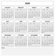 Printable Calendars 2020 With Holidays Calendar 2020 Printable With Holidays Pdf Word Excel