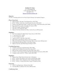 Best Solutions Of Soccer Coach Resume Sample For Proposal
