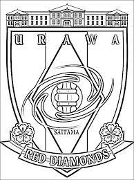 Kleurplaat Urawa Red Diamonds Gratis Kleurplaten