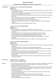 Software Developer Resume Samples Full Stack Software Engineer Resume Samples Velvet Jobs