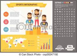 Sports Infographic Template Sports Flat Design Infographic Template Sports Infographic Template